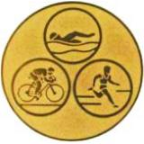 эмблема D1-A35/G триатлон