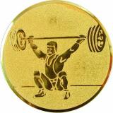 Жетон Тяжелая атлетика A63