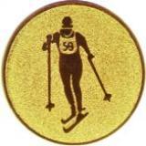 эмблема D1-A148/G лыжи