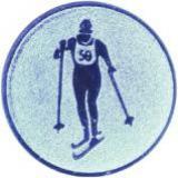 эмблема D1-A148/S лыжи