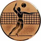 Жетон Волейбол A6/B