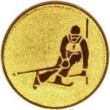 Эмблема лыжный спорт/горный
