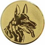 эмблема D1-A77/G овчарка