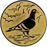 эмблема D1-A64/G голубь