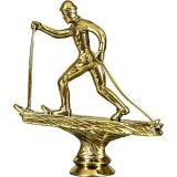 Фигурка Лыжный спорт / Золото