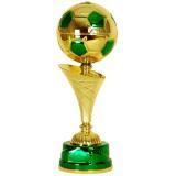 Кубок «Футбол» c чашей - мячом / Золото-Зелёный