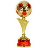 Кубок «Футбол» c чашей - мячом / Золото-Красный