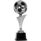Кубок «Футбол» c чашей - мячом / Серебро-Чёрный