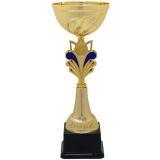 Кубок «Глобус» c ручками / Золото-Синий