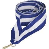 Лента для медали / Синий-Белый