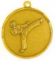 Медаль Каратэ / Металл / Золото 02-0232-1