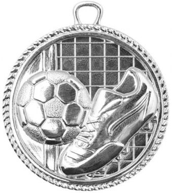 Медаль Футбол / Металл / Серебро 02-1091-2