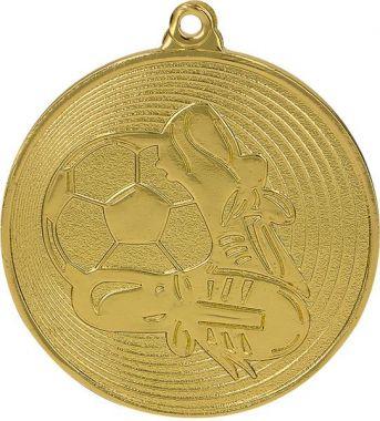 Медаль Футбол / Металл / Золото 02-0170-1