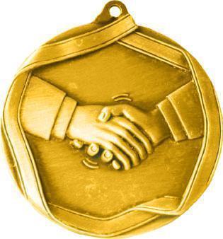 Медаль Товарищеская встреча / Металл / Золото 02-0224-1