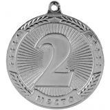 Медаль Места - Звезда / Металл / Серебро