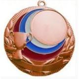 Медаль Универсальная - Кубок - Триколор / Металл / Бронза