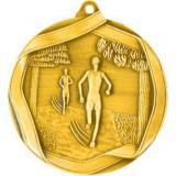 Медаль Бег / Металл / Золото