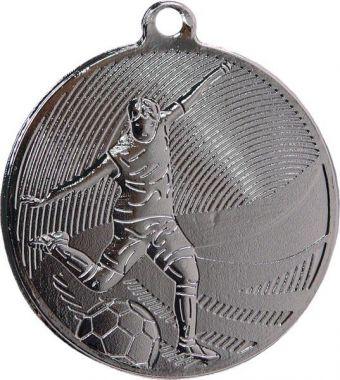 Медаль Футбол / Металл / Серебро 02-0112-2