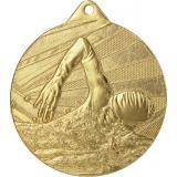 Медаль Плавание / Металл / Золото