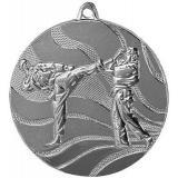 Медаль Каратэ / Металл / Серебро