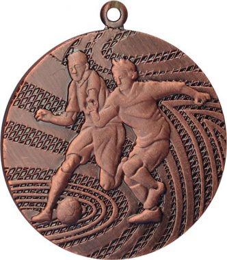 Медаль Футбол / Металл / Бронза 02-0114-3