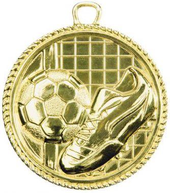 Медаль Футбол / Металл / Золото 02-1091-1