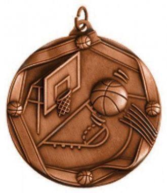 Медаль Баскетбол / Металл / Бронза 02-0217-3