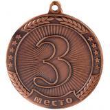 Медаль Места - Звезда / Металл / Бронза