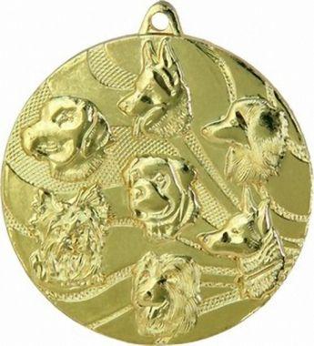 Медаль Животноводство / Металл / Золото 02-0107-1