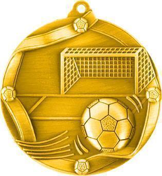 Медаль Футбол / Металл / Золото 02-0220-1