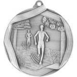 Медаль Бег / Металл / Серебро