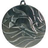 Медаль Пожарный / Металл / Серебро