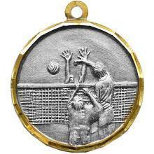 Медаль Волейбол / Металл / Серебро 02-0230-2