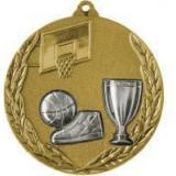 Медаль Баскетбол - Кубок / Металл / Золото