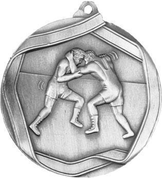 Медаль Борьба / Металл / Серебро 02-0222-2