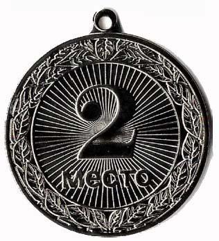 Медаль Места / Металл / Серебро 02-0789-2