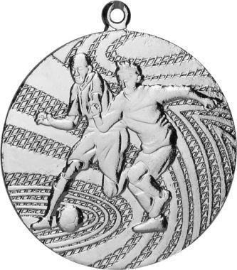 Медаль Футбол / Металл / Серебро 02-0114-2