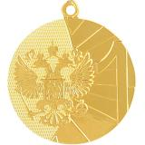 Медаль Места - РФ / Металл / Золото
