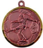 Медаль Футбол / Металл / Бронза 02-0226-3