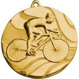 Медаль Велоспорт / Металл / Золото