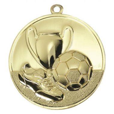 Медаль Футбол - Кубок / Металл / Золото 02-1109-1