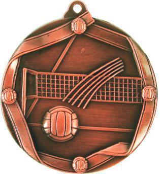 Медаль Волейбол / Металл / Бронза 02-0221-3