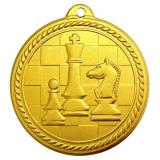 Медаль Шахматы / Металл / Золото