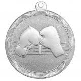Медаль Бокс / Металл / Серебро