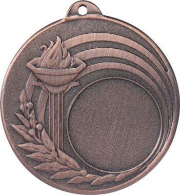 Медаль Универсальная - Факел / Металл / Бронза 02-0184-3