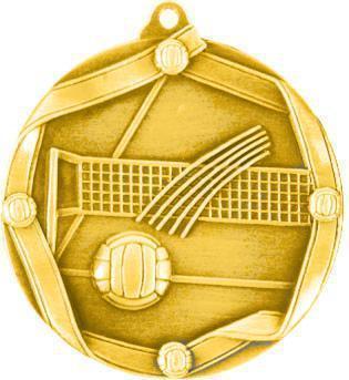 Медаль Волейбол / Металл / Золото 02-0221-1