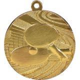 Медаль Теннис настольный / Металл / Золото