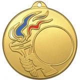 Медаль Универсальная - Факел - Триколор / Металл / Золото