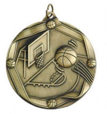 Медаль Баскетбол / Металл / Золото 02-0217-1