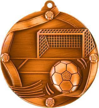 Медаль Футбол / Металл / Бронза 02-0220-3